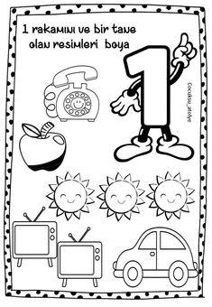 English Activities, In Kindergarten, Homework, Montessori, Worksheets, Preschool, Preschool Learning, Initials, Kindergarten