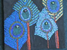 peacock decoration | PEACOCK DECORATIONS by Kat Gottke | Mosaics ~N~ Stained Glass Treasu ...