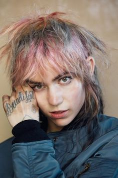 Grimes for Dazed Magazine wearing Louis Vuitton