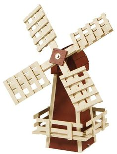 Amish Made Ornamental Dutch Windmill Lawn Decor - Small