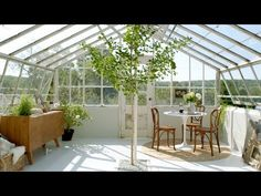 A Greenhouse Makeover with 'The Frame' by Samsung - YouTube