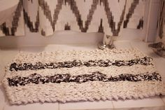 A Common Thread — how to knit a rag bath mat - knit pattern