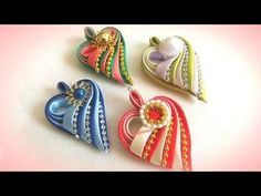 Kanzashi flower tutorial, How to,DIY ribbon flowers,kanzashi flores de cinta Kanzashi Tutorial, Ribbon Flower Tutorial, Satin Ribbon Flowers, Ribbon Art, Ribbon Crafts, Ribbon Bows, Fabric Flowers, Diy Quilling, Band Kunst
