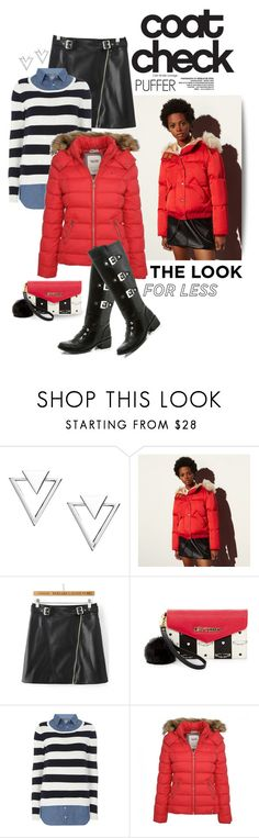 """""""Perfect Puffer Jackets"""" by shortyluv718 ❤ liked on Polyvore featuring Nadri, Coach, WithChic, Betsey Johnson, Dorothy Perkins, Puffa, Lady Godiva, contestentry and puffers"""