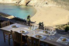 Discover The Kinglike Villas: A Collection Of Luxury Villas in Mykonos Mykonos Town, Mykonos Greece, Ornos Beach, Beach Entry Pool, Mykonos Villas, Luxury Restaurant, Pool Bar, Beautiful Villas, Unique Architecture