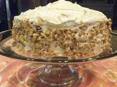Nordstrom Carrot Cake Recipe!!!!! Freaking delicious.