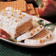 Dessert for 2 ! Apple Graham Dessert! --- Easy!
