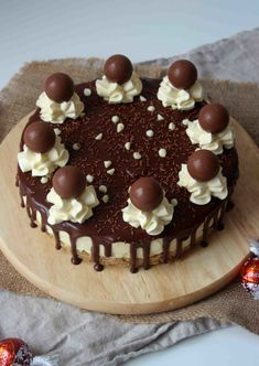 White Chocolate Lindor Truffle Cheesecake - scarletscorchdroppers