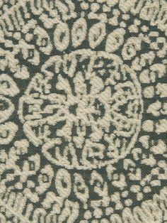 Love this fabric (Robert Allen's Center Circle - Mineral) for a great POP pillow! #RANaturals