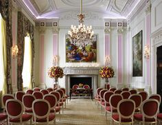 The Music Room at the Ritz London - The largest private dining room for receptions, dinners and wedding ceremonies.
