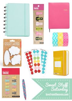 Pretty and organized!  Pretty planners, calendars, accessories and free printables for 2014.