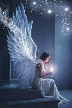 Angel Images, Angel Pictures, Beautiful Fantasy Art, Beautiful Gif, Beautiful Angels Pictures, Angel Artwork, Angel Wallpaper, Angel Drawing, Angel Warrior