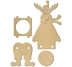 Wooden Crafts, Diy And Crafts, Crafts For Kids, Paper Crafts, Christmas Art, Christmas Ornaments, Laser Cutter Ideas, Rena, Silhouette Portrait