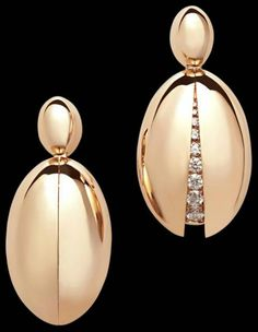 De GRISOGONO | Secret Diamond Earrings | {ʝυℓιє'ѕ đιåмσиđѕ&ρєåɾℓѕ}