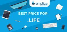 .Life Domain Registration - https://amplica.net/tlds/life-domain-registration/
