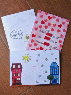 Valentine's Day Cards on my ETSY SHOP ! ^_^ I made one for long distance relationships also! (inspired from my long distance relationship)
