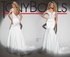 Tony Bowls Style TB117175 - View the Tony Bowls Collection now and contact a retailer near you to order the perfect designer dress for your social occasion!