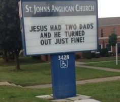 This forward-thinking church sign: | 19 Things That Will Warm Even The Coldest, Deadest Heart