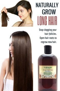 Grow New Hair Shampoo / Focus on your scalp and follicles for faster hair growth.This shampoo is one of the best ways to make your hair grow faster and longer. This shampoo is deeply absorbed to restore life, vitality and strength by protecting your hair