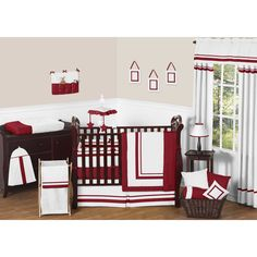 Sweet Jojo Designs Modern 9-piece Crib Bedding Set | Overstock™ Shopping - Big Discounts on Sweet Jojo Designs Bedding Sets