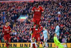 The best of the photos from Liverpool 4-1 West Ham