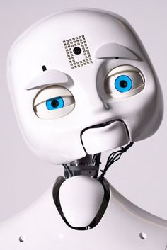 Feature: Social Learning Robot Observes and Interacts with Humans, Looks Slightly Creepy Most Advanced Robot, Crazy Robot, Mr Roboto, Humanoid Robot, Audio Engineer, Cool Robots, Information And Communications Technology, Robot Design, Cool Inventions