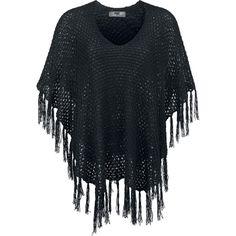 Kappe Black Premium by EMP  »Knitted Poncho« | Køb nu hos EMP | Masser af Kapper Basics  fås online ✓ Stærke priser!