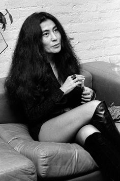 """""""I am extremely rebellious. I have this strong, defiant spirit."""" - Yoko Ono"""
