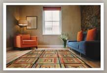 Modern and contemporary, area rug, available at Budget Blinds!
