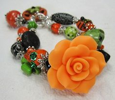 HALLOWEEN / DAY of the DEAD / Dia de los by CayaCowgirlCreations, $35.00