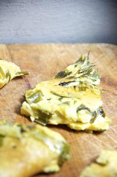 Omelette ai Cipollotti.