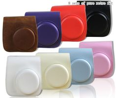 Find More Camera/Video Bags Information about PU Leather Shoulder Strap Bag Case Pouch For FUJIFILM Polaroid Instax Mini8 Mini8s Vintage Solid Color Camera Carry Cover Case,High Quality pouch for iphone 4,China pouch bag Suppliers, Cheap pouch food from Photography store on Aliexpress.com