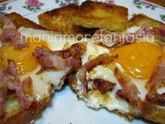 Uova fritte nel pancarrè