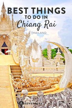Planning a trip to Chiang Rai? Here is our list of the best things to do in Chiang Rai from hiking tours, temple hopping to other cultural activities. Thailand Destinations, Thailand Travel Guide, Visit Thailand, Asia Travel, Croatia Travel, Travel Abroad, Hawaii Travel, Holiday Destinations, Italy Travel