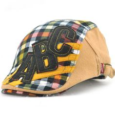 Good-quality Kids Boys Girls Cotton Grid Plaid Letter Cute Berets Hat Patch Flat Cap Casual Outdoor Visor Gorras is cheap, see more kids hats on NewChic. Flat Hats, Hat Patches, Kids Hats, Boy Or Girl, Baby Boy, Girls, Boys, Baseball Hats, Plaid