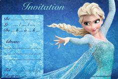 Invitation - La Reine des Neiges