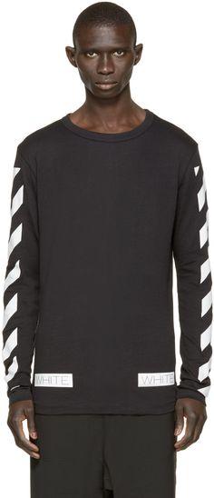 Off-White Black Logo T-Shirt