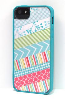 Washi Tape iPhone Cover