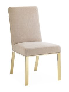 Upholstered Side Chair by Caracole at Gilt