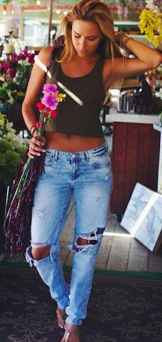 Look Despojado com Calça Destried + Havaianas #ModaParaDepoisDeEmagrecer