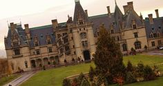 The Biltmore Estate in North Carolina at Christmas :)