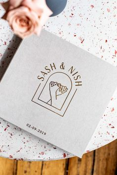 Sash and Nish's Melbourne Brewery Wedding — State Of Reverie. Stationery Paper, Stationery Design, Invitation Design, Material Design, Brewery Wedding, Wedding Signs, Bali Wedding, Wedding Ideas, Wedding Venues