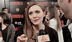 ♔ ELIZABETH OLSEN (Brown Hair) GIF HUNT ♔ Under the cut you will find #105, small/medium, HQ gifs of Elizabeth Olsen with brown hair. Requested by anonymous.  None of these gifs were made by me. A...