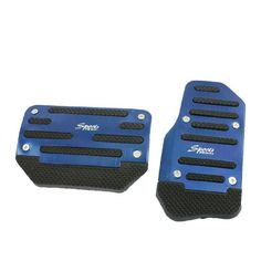 2 Pcs Black Blue Plastic Metal Nonslip Pedal Cover Set for Car uxcell http://www.amazon.com/dp/B00AKWTKOU/ref=cm_sw_r_pi_dp_ejy2tb148H9RW60K