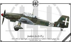 Junkers Ju 87 D-3, Regia Aeronautica