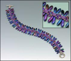 Whimbeads.com Libellules Bracelet Tutorial