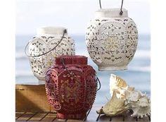 Pottery Barn lanterns..like