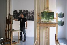 First Contemporary Calo Carratala Studio Artist Studios, Contemporary, Landscape, Home Decor, Scenery, Decoration Home, Room Decor, Home Interior Design, Corner Landscaping