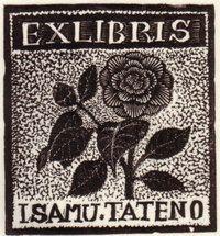 Ex libris by Hiwansaki Takao (日和崎尊夫)