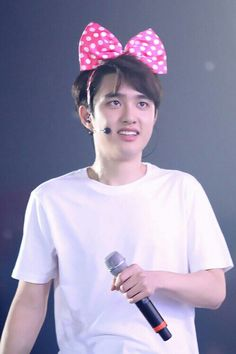 "For one night only on January 21, 2014 EXO's Kyungsoo is Minnie D.O. Live via YouTube! He'll be performing along side famous Disney Icons like Mickey, Donald Duck and Goofy (This is Complete fiction) featuring EXO songs like ""Baby Don't cry for Mickey,"" ""Mama, is Goofy a dog?"" ""Growl, Donald Duck's mad again"" & that oldie but a goodie ""Peter Pan."" Ticket's available at 555-0U8-12B4 that's 555-0U8-12B4. Please don't call this fake number. The fake event already took place:)"